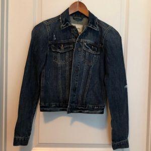 Abercrombie & Fitch XS denim jacket